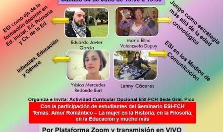Jornada de Formación Feria Virtual construyendo la ESI desde la Formación docente